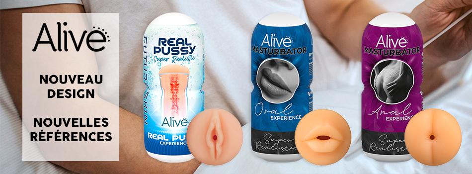 Nouveaux masturbateurs Alive