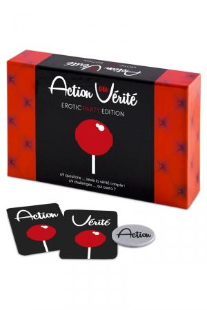 jeu action ou vérité couple erotic Party Edition