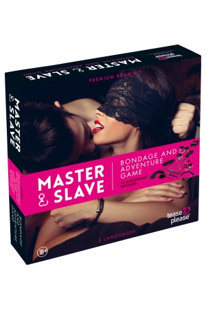 Jeu de bondage Master & Slave - rose