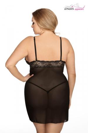 Nuisette lingerie fine grande taille valencia lingerie Anais