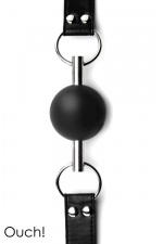 Solid Ball Gag - Black