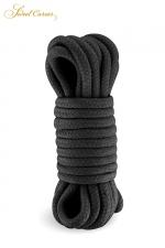 Corde de bondage noire 5m - Sweet Caress