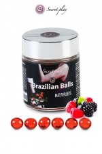 6 Brazilian Balls - baies rouges