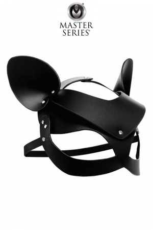 Masque de chat en cuir Bad Kitten