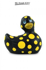Mini canard vibrant Happiness noir