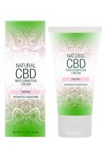 Crème de masturbation Femme - Natural CBD