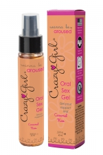 Gel Sexe Oral Crazy Girl - Caramel Kiss