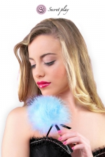 Plumeau 18 cm bleu - Secret Play