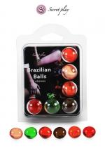 6 Brazilian Balls parfums variés