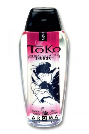 Lubrifiant Toko Aroma - vin pétillant et fraise