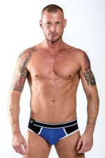 Jock Brief URBAN SoMa Bleu - Mister B