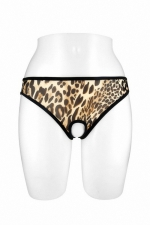 Culotte ouverte Ophelia - léopard