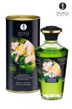 Huile chauffante aphrodisiaque Thé Vert