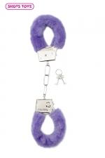 Menottes fourrure Shots - violet