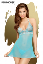 Nuisette Bedtime Story bleue - Penthouse
