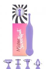 Stimulateur clitoridien Mister Sweetspot violet - Feelztoys