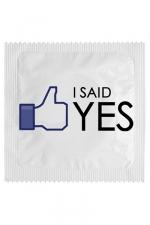 Préservatif humour - I Said Yes