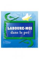 Préservatif humour - Laboure Moi Dans Le Pré