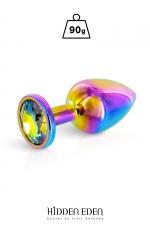 Plug bijou aluminium Rainbow M - Hidden Eden